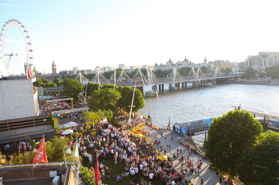A Room for London: Looking down at South Bank