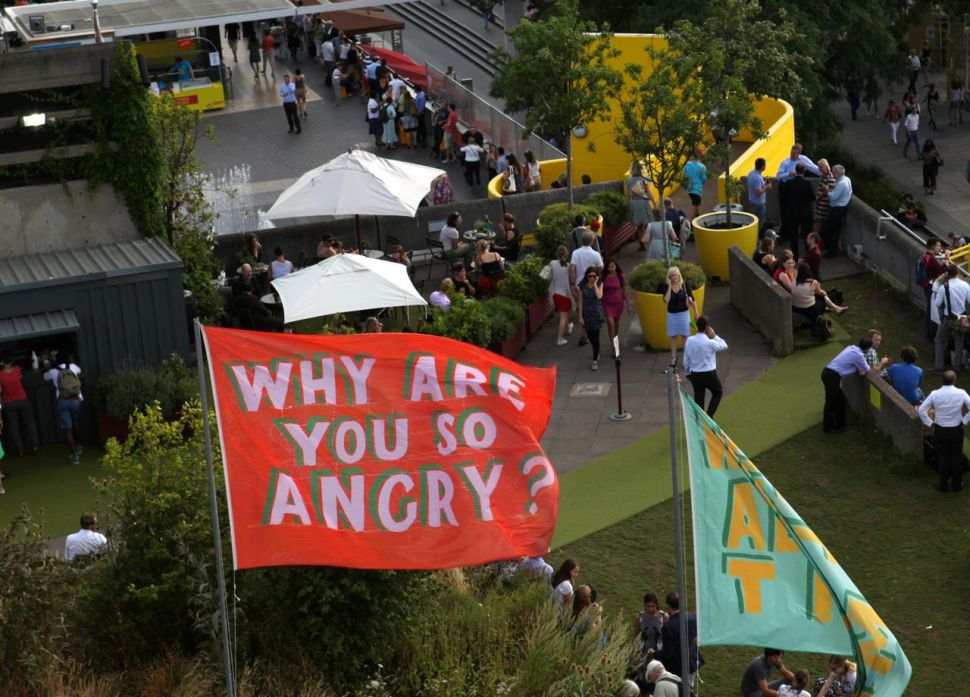 South Bank Festival of Neighbourhood: Why are you so angry?