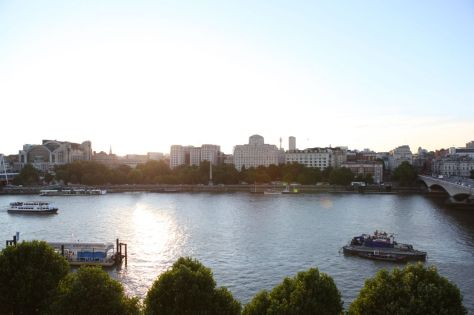 A Room for London: Looking down at River Thames