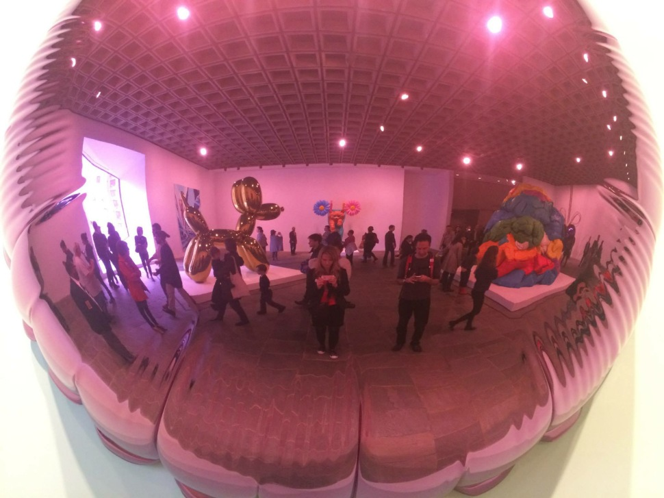 30 in NY: Checking out Jeff Koons' retrospective at the Whitney Museum of American Art
