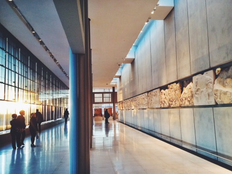 Acropolis Museum at Golden Hour: you know you've got to do it