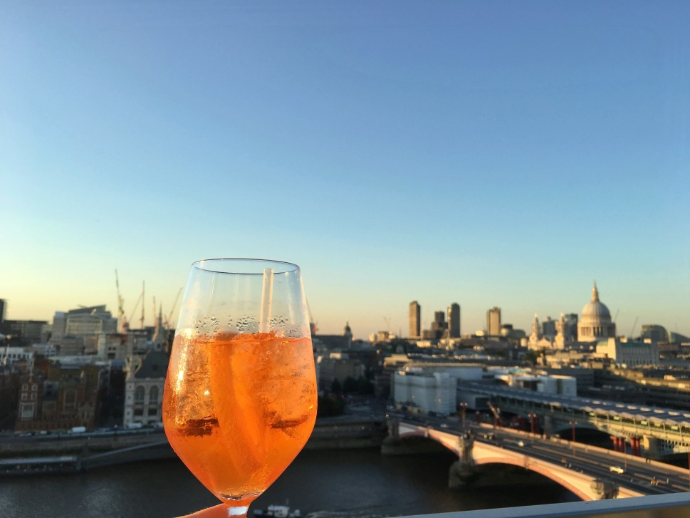 Aperol Spritz at Rumpus Room
